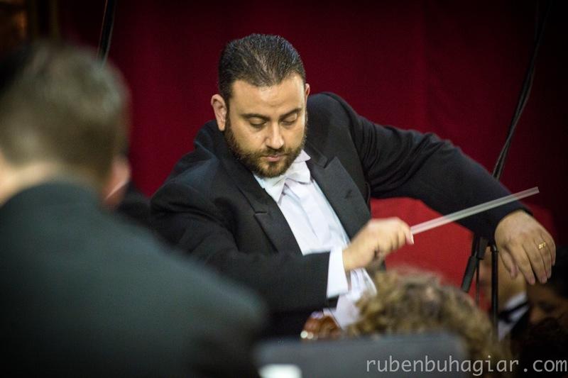 Hermann Farrugia Frantz Direction the Malta Philharmonic Orchestra