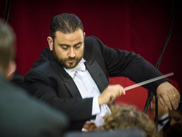 MPO Plays during Canticum Vitae directed by Hermann Farrugia Frantz
