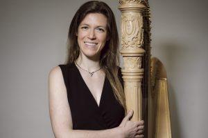 Britt Arend Harp Player