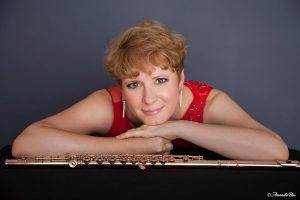 Rebecca Hall Flute Player