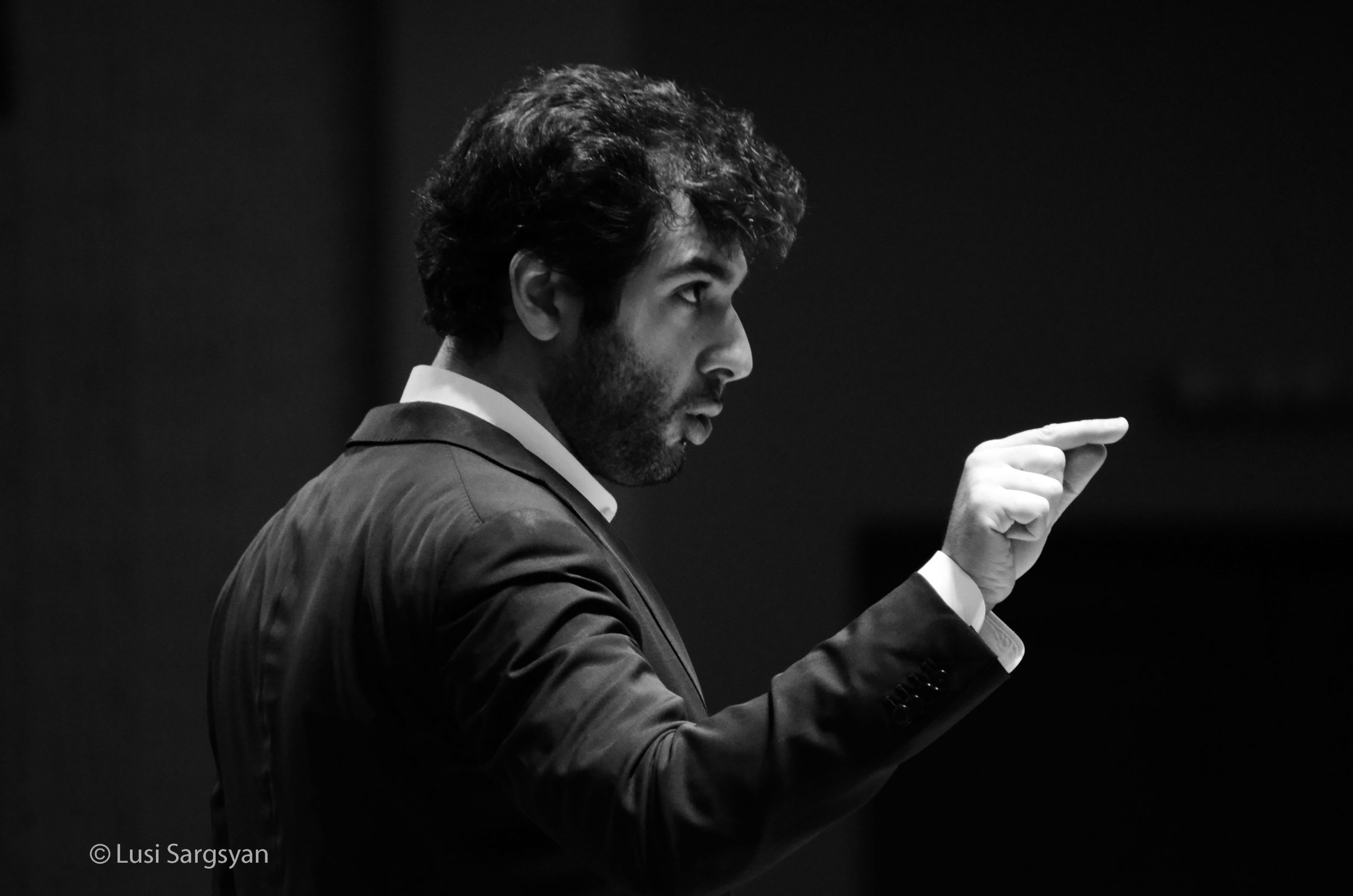 Sergey Smbatyan Conductor of the MPO