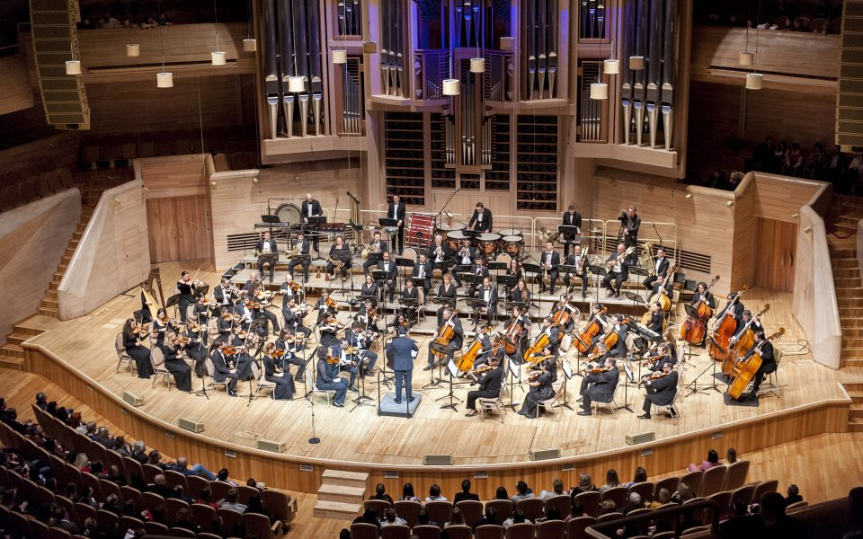 The Malta Philharmonic Orchestra performs during its International Tours