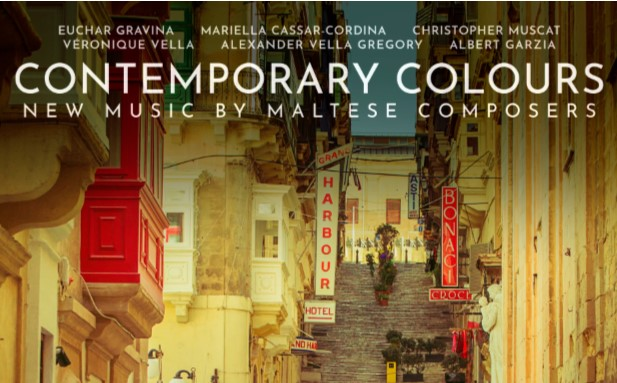 Contemporary Colours CD Published by the MPO