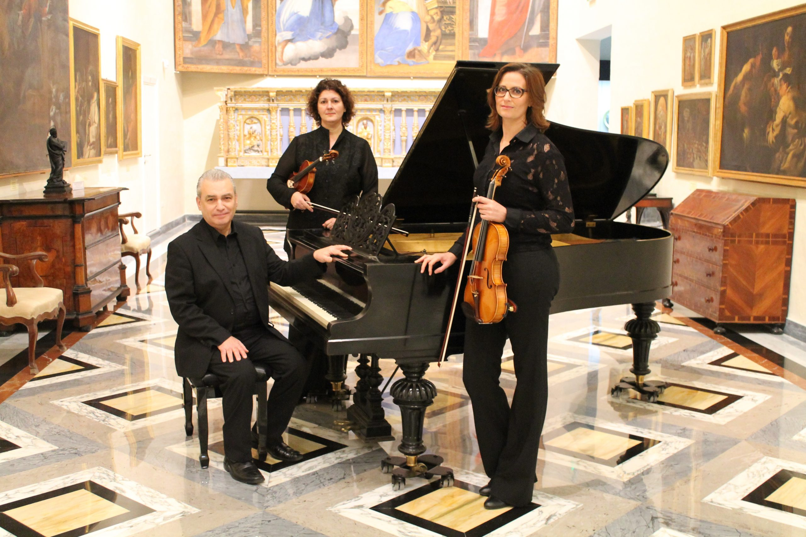 MPO Trio performinc Classical Music at San Anton Palace
