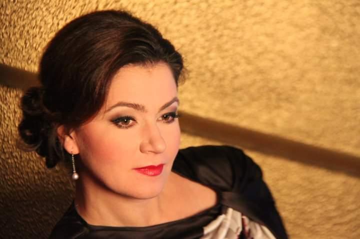 Soprano Tatiana Lisnic performing with the MPO