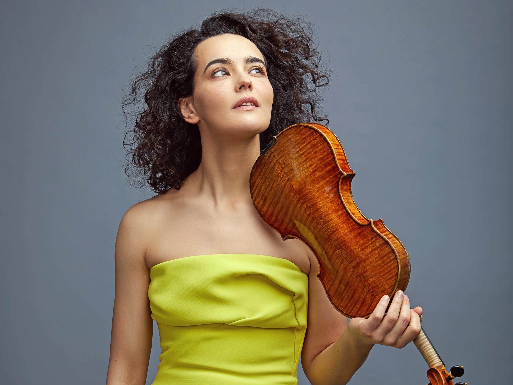 Alena Baeva violinist
