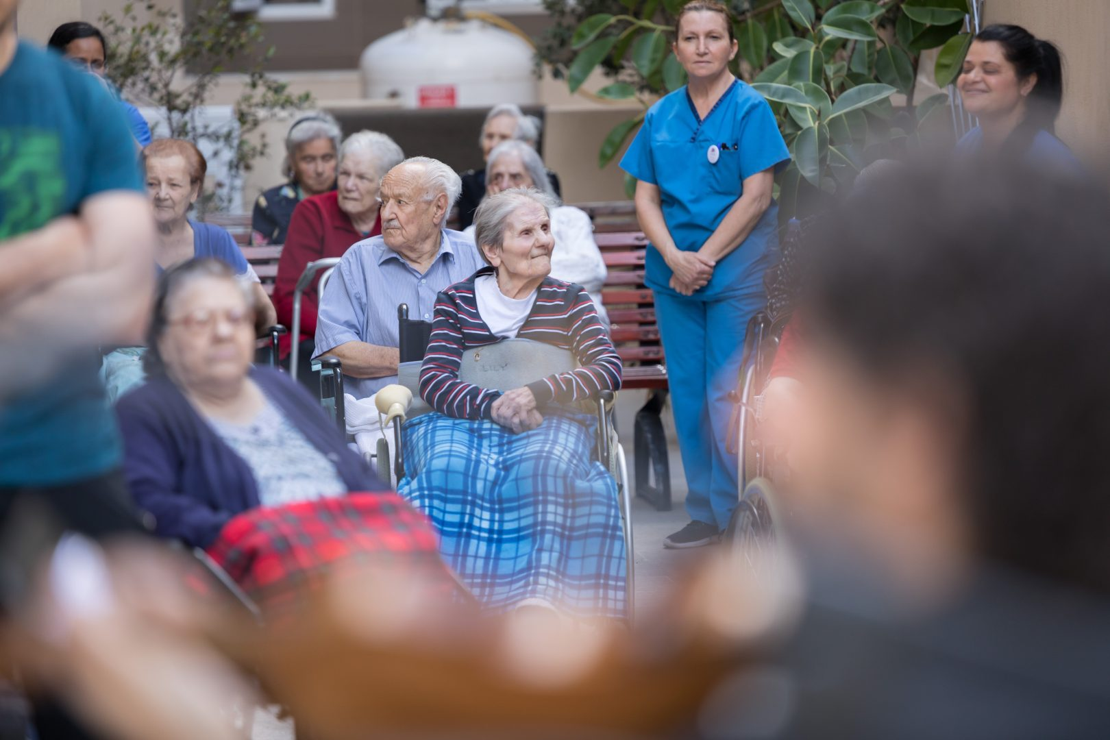 Bringing music to the elderly, an event by the Malta Philharmonic Orchestra