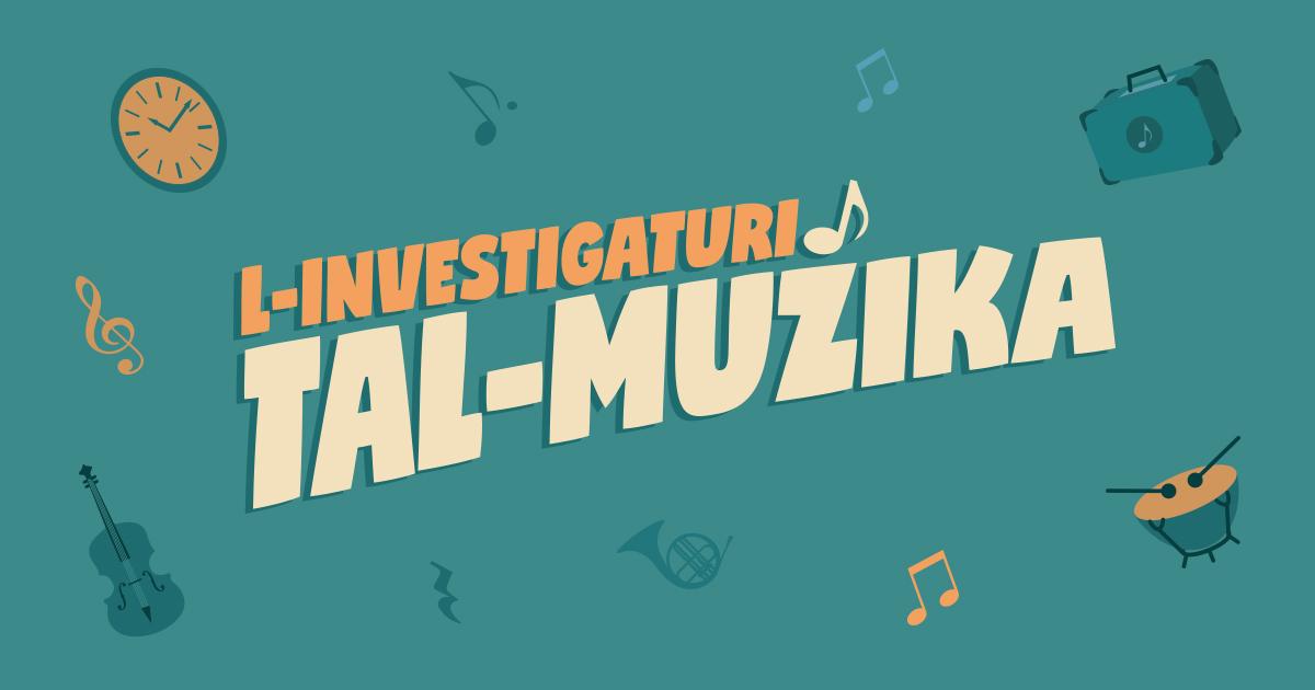 L-investigaturi tal-muzika is an initiative for children to bring them closer to classical music.