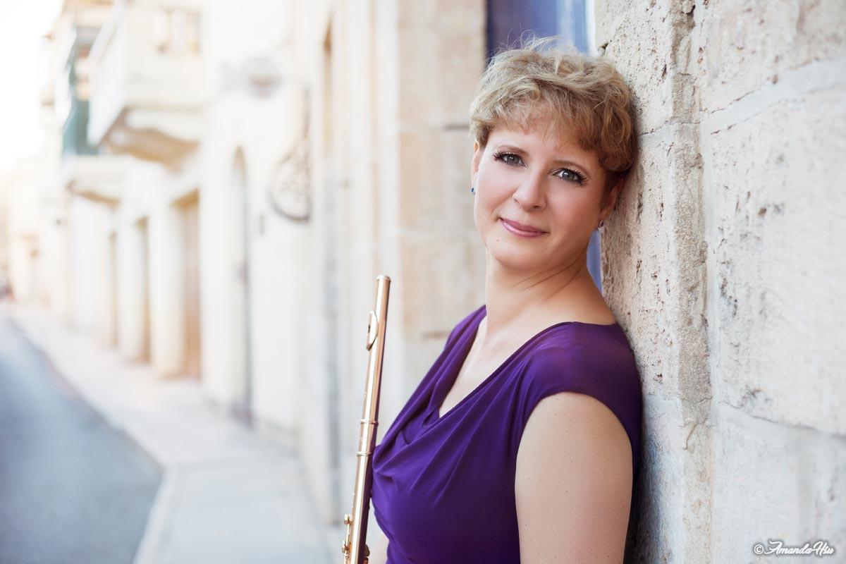 Rebecca Hall flute with the MPO