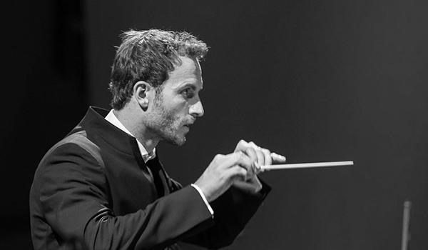 Conductor Christiasn Schumann in Malta